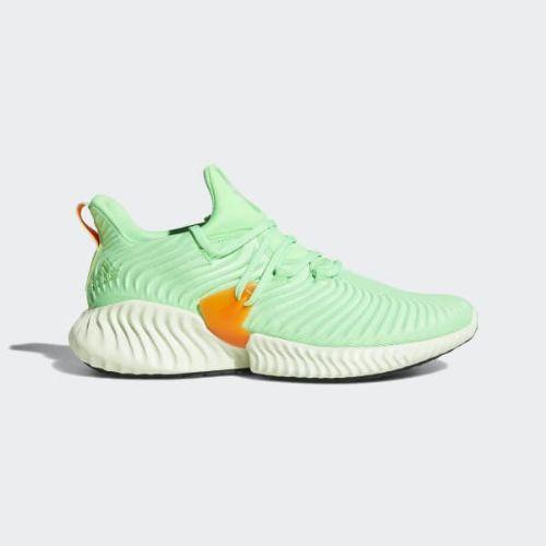 (取寄)アディダス メンズ アルファバウンス インスティンクト ランニングシューズ adidas Men's Alphabounce Instinct Shoes Shock Lime / Aero Green / Hi-Res Orange