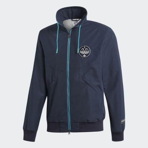 (取寄)アディダス オリジナルス メンズ ハーパイー トラック ジャケット adidas originals Men's Harpurhey Track Jacket Night Navy