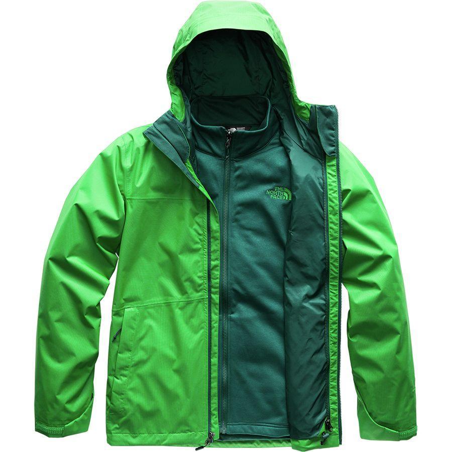 (取寄)ノースフェイス メンズ アロウッド トリクラメイト スリーインワン ジャケット The North Face Men's Arrowood Triclimate 3-in-1 Jacket Primary Green/Botanical Garden Green