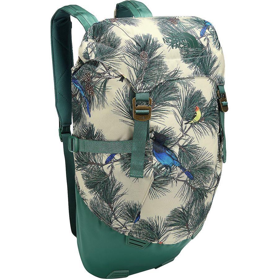 (取寄)ノースフェイス ホームステッド ロード トリッパー 30L バックパック The North Face Men's Homestead Roadtripper 30L Backpack Peyote Beige Birding Print/Jasper Green