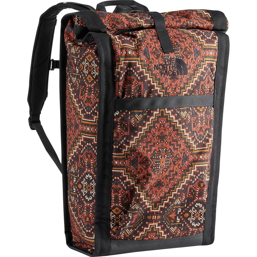(取寄)ノースフェイス ホームステッド ロードソーダ バックパック The North Face Men's Homestead Roadsoda Backpack Tandori Spice Red Reno Casino Print/Weathered Black