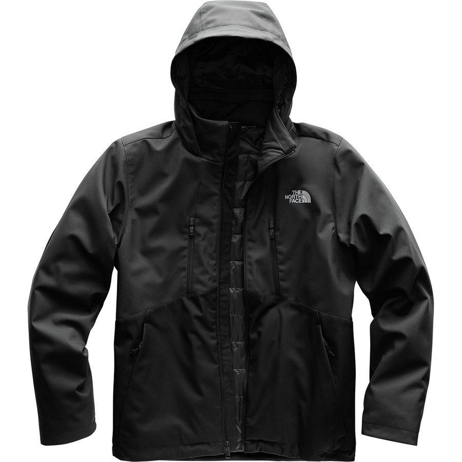 (取寄)ノースフェイス メンズ アペックス エレベーション フーデッド ソフトシェル ジャケット The North Face Men's Apex Elevation Hooded Softshell Jacket Asphalt Grey/Tnf Black