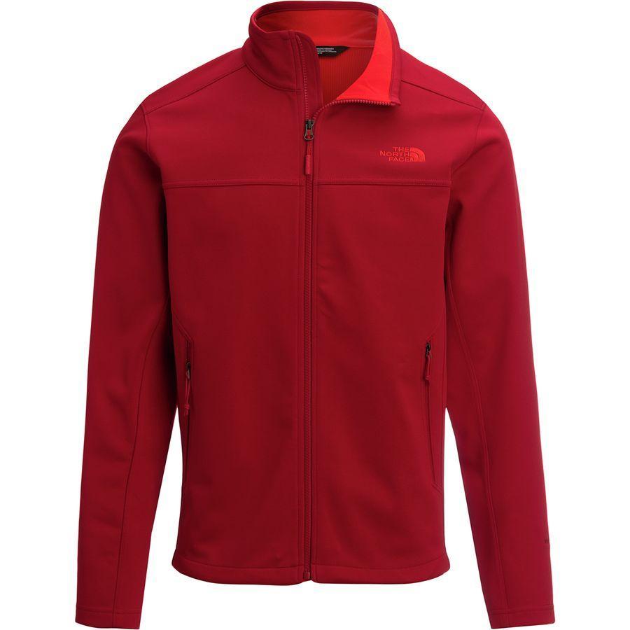 (取寄)ノースフェイス メンズ アペックス Canyonwall ジャケット The North Face Men's Apex Canyonwall Jacket Rage Red/Rage Red