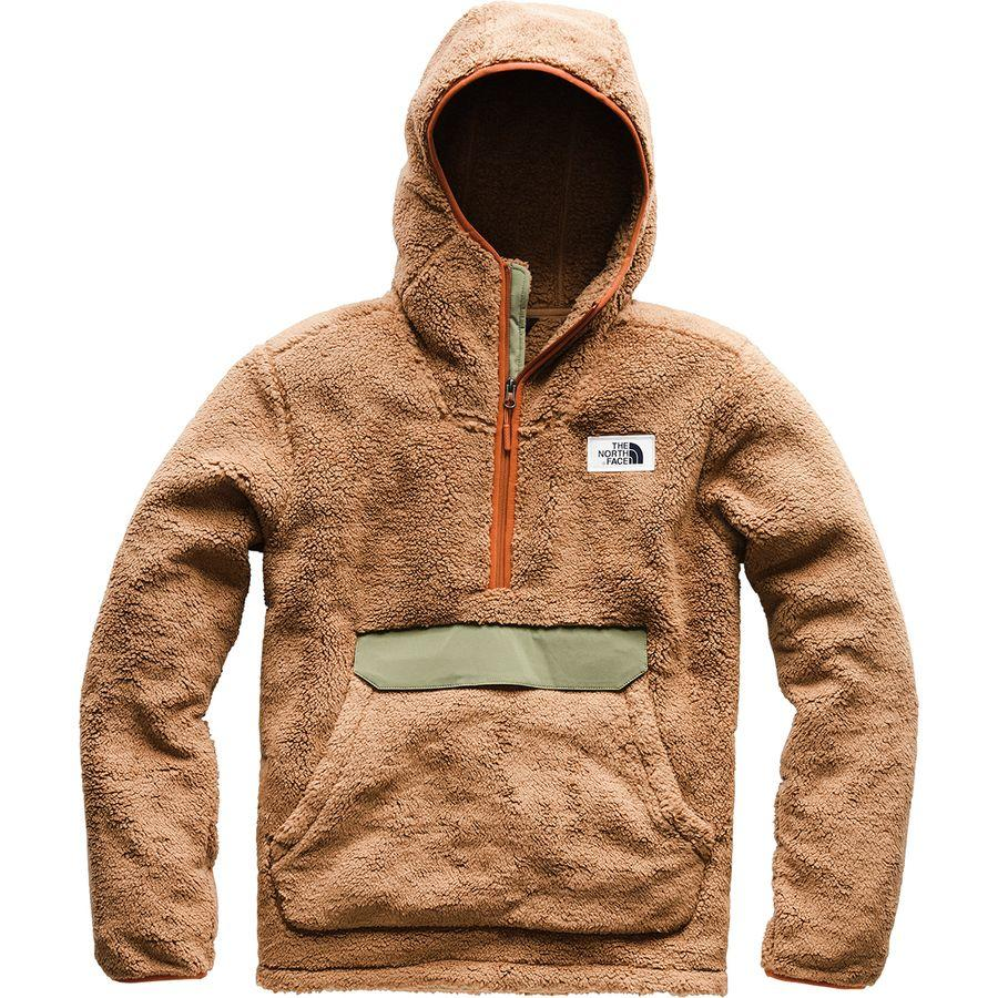 (取寄)ノースフェイス メンズ Campshire フーデッド プルオーバー パーカー The North Face Men's Campshire Hooded Hoodie Pullover Cargo Khaki/Four Leaf Clover