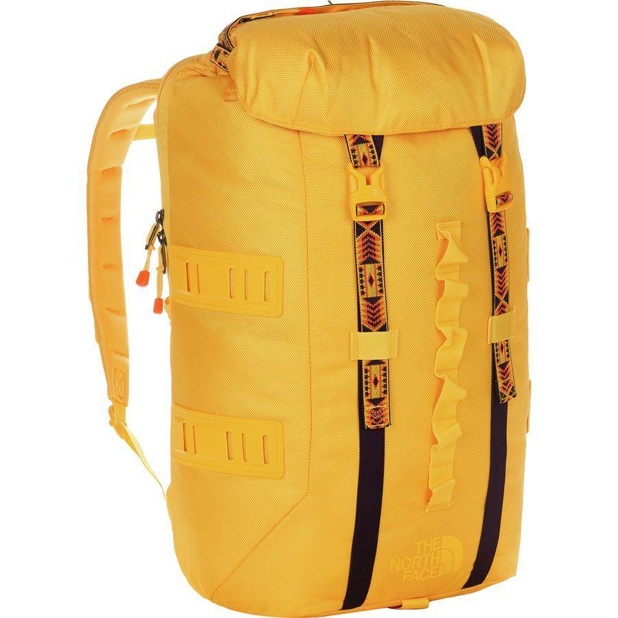 (取寄)ノースフェイス リネージュ ラック 37L バックパック The North Face Men's Lineage Ruck 37L Backpack Tnf Yellow/Tnf Yellow
