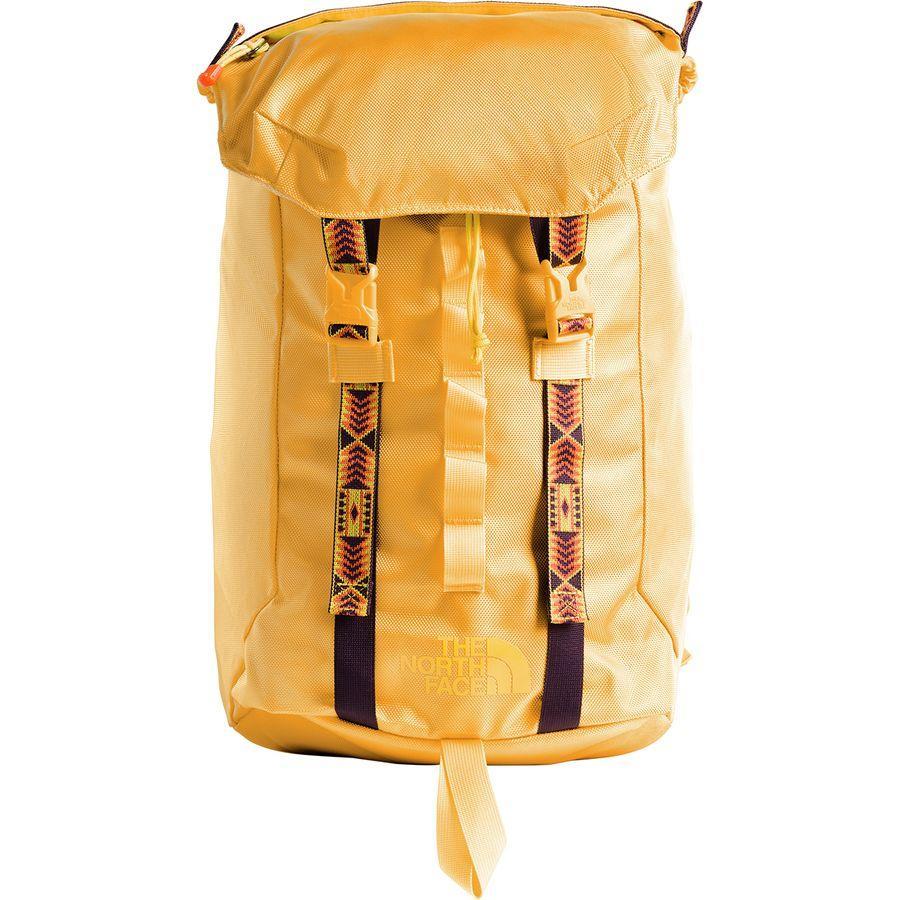 (取寄)ノースフェイス リネージュ ラック 23L バックパック The North Face Men's Lineage Ruck 23L Backpack Tnf Yellow/Tnf Yellow
