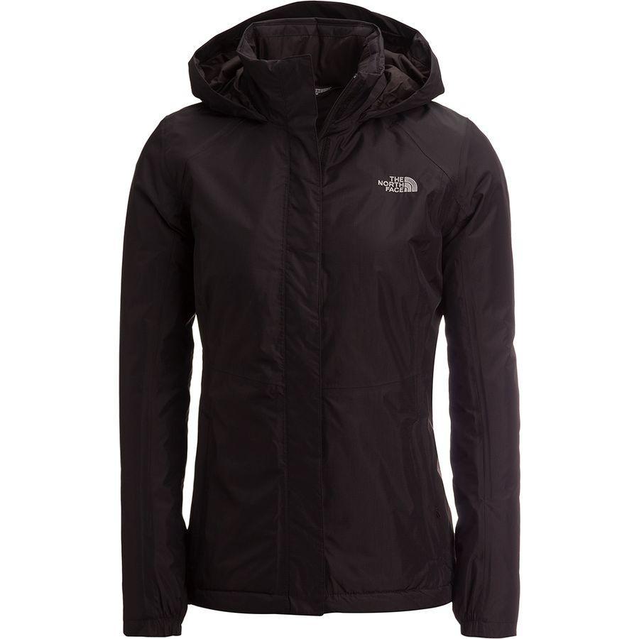 (取寄)ノースフェイス レディース リゾルブ インサレーテッド ジャケット The North Face Women Resolve Insulated Jacket Tnf Black/Tnf Black