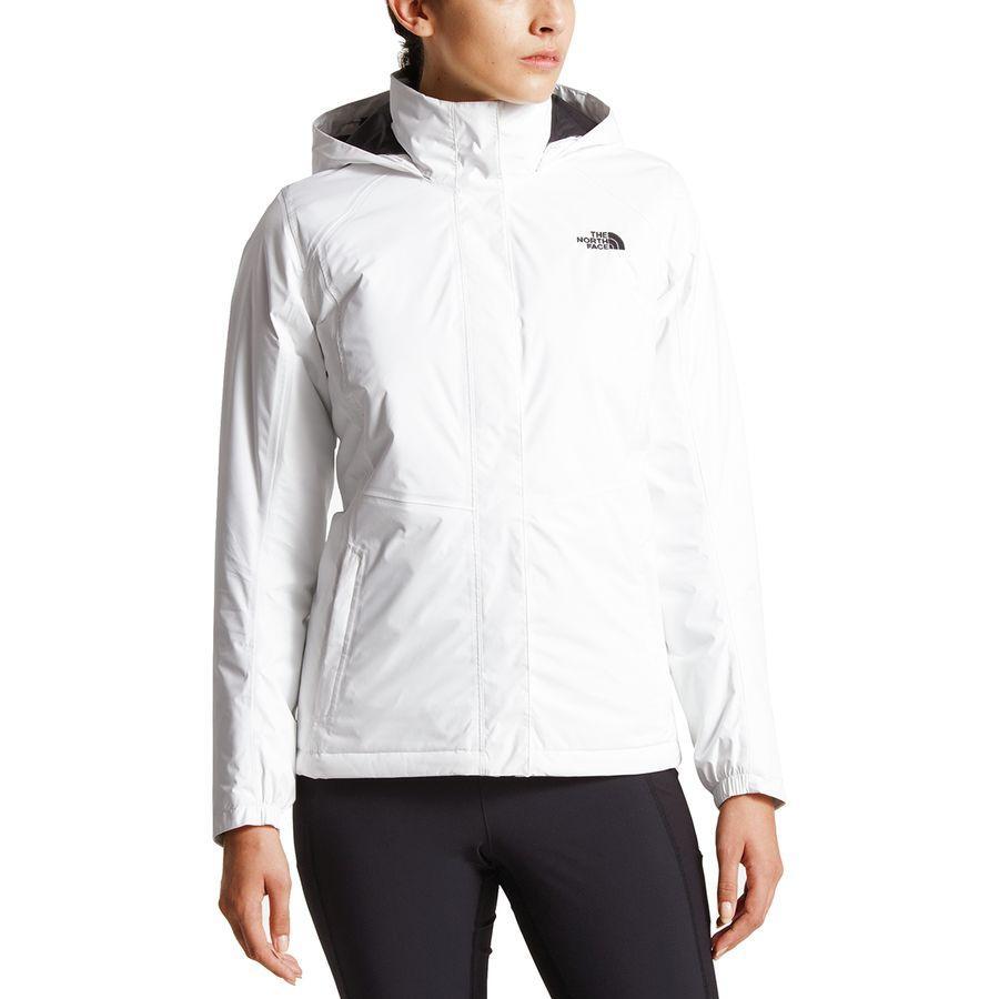 (取寄)ノースフェイス レディース リゾルブ インサレーテッド ジャケット The North Face Women Resolve Insulated Jacket Tnf White/Tnf White