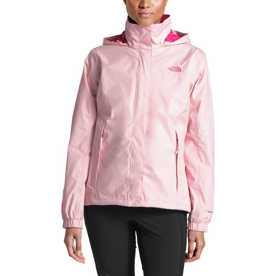 (取寄)ノースフェイス レディース ピンク リボン リゾルブ ジャケット The North Face Women Pink Ribbon Resolve Jacket Purdy Pink/Raspberry Rose