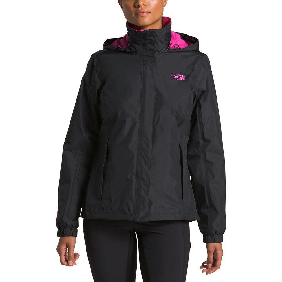 (取寄)ノースフェイス レディース ピンク リボン リゾルブ ジャケット The North Face Women Pink Ribbon Resolve Jacket Tnf Black/Raspberry Rose