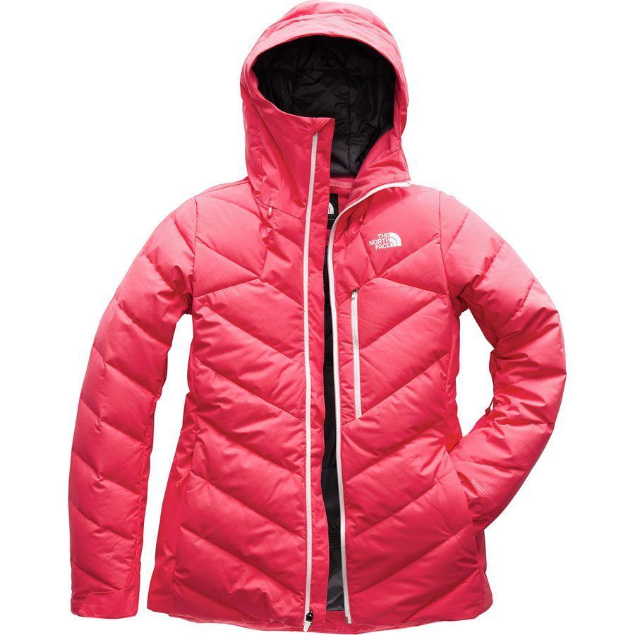 (取寄)ノースフェイス レディース コアファイア フーデッド ダウン ジャケット The North Face Women Corefire Hooded Down Jacket Teaberry Pink