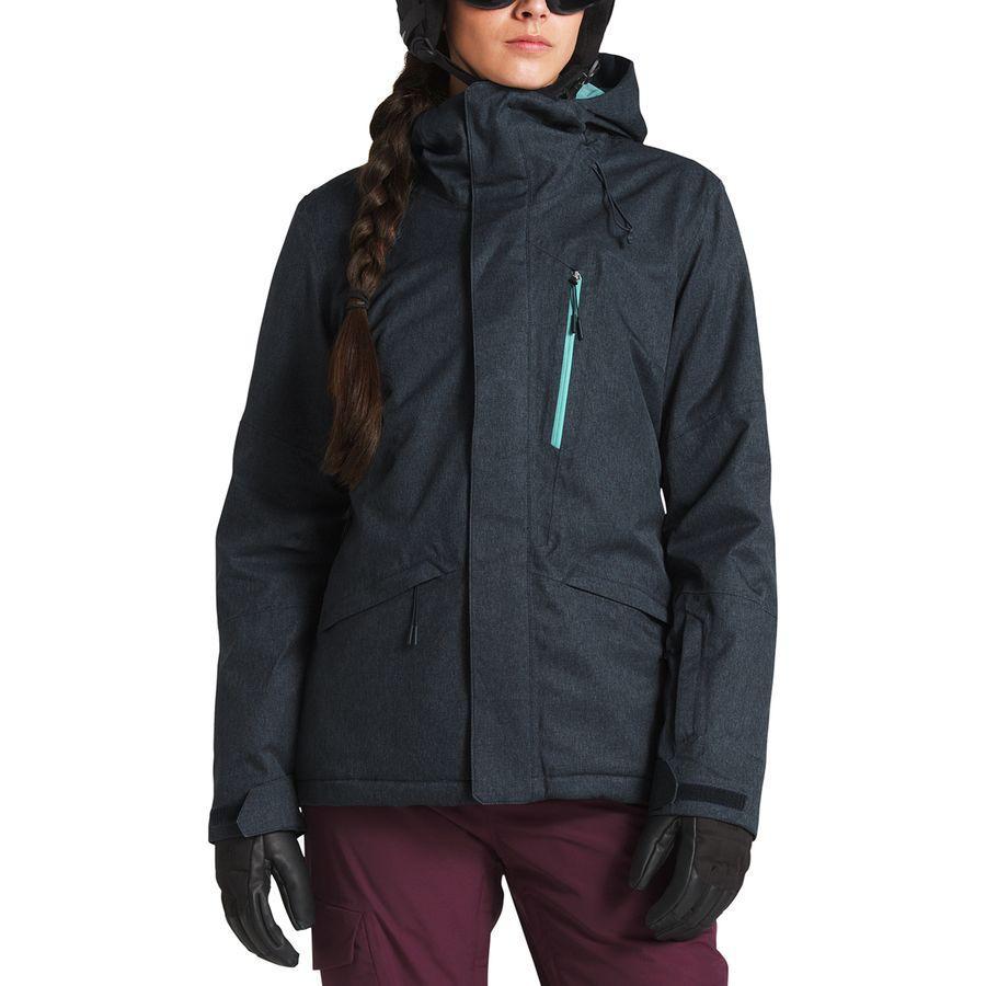 (取寄)ノースフェイス レディース ThermoBall スノー トリクラメイト フーデッド 3-In-1 ジャケット The North Face Women ThermoBall Snow Triclimate Hooded 3-In-1 Jacket Urban Navy Heather