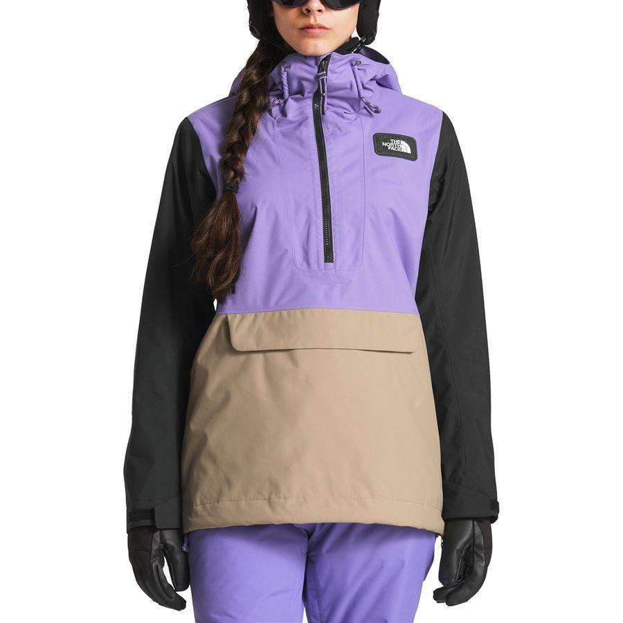 (取寄)ノースフェイス レディース タナジャー アノラック フーデッド ジャケット The North Face Women Tanager Anorak Hooded Jacket Dahlia Purple/Tnf Black/Kelp Tan