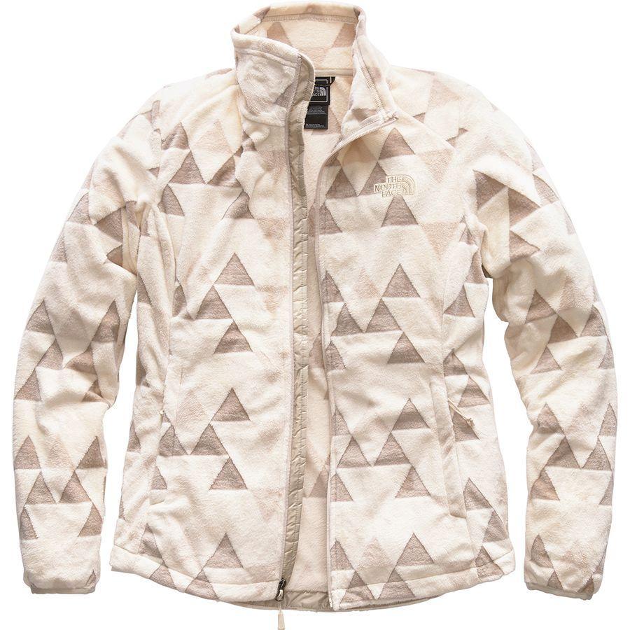 (取寄)ノースフェイス レディース ノベルティ Osito ジャケット The North Face Women Novelty Osito Jacket Vintage White Triangle Pile Print