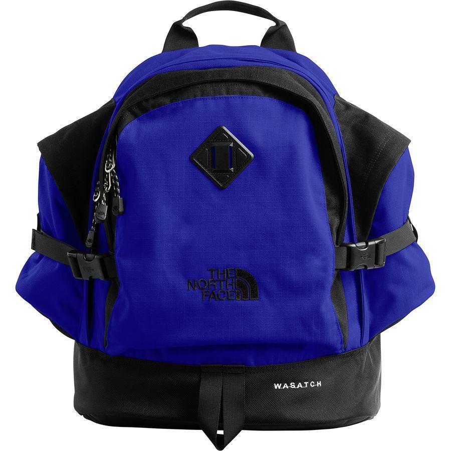 (取寄)ノースフェイス ワサッチ リイシュー 35L デイパック The North Face Men's Wasatch Reissue 35L Daypack Aztec Blue/Tnf Black