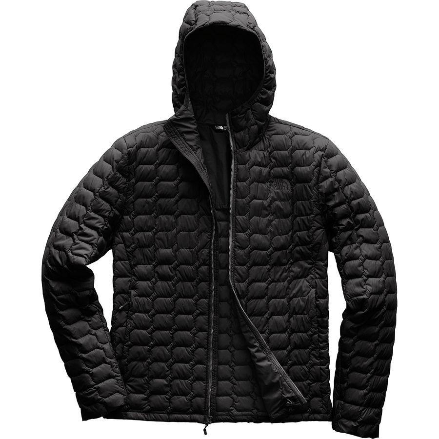 (取寄)ノースフェイス メンズ ThermoBall フーデッド インサレーテッド ジャケット The North Face Men's ThermoBall Hooded Insulated Jacket Tnf Black Matte
