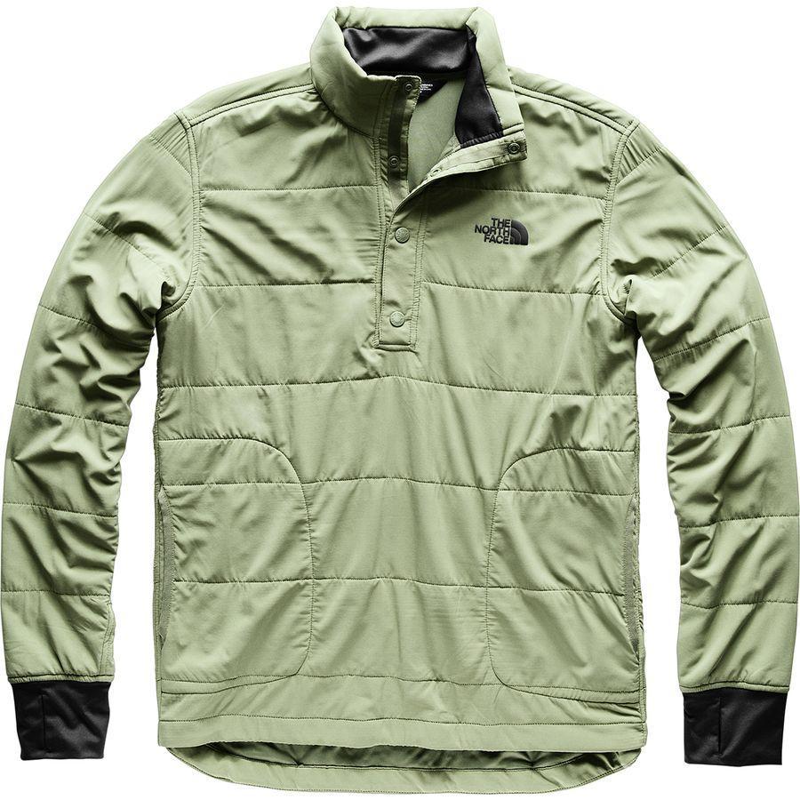 (取寄)ノースフェイス メンズ マウンテン トレーナー 1/4スナップ ネック ジャケット The North Face Men's Mountain Sweatshirt 1/4 Snap Neck Jacket Four Leaf Clover