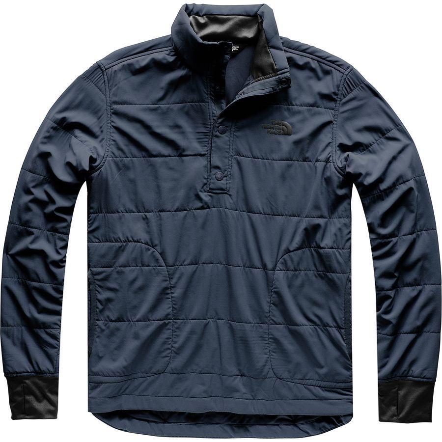 (取寄)ノースフェイス メンズ マウンテン トレーナー 1/4スナップ ネック ジャケット The North Face Men's Mountain Sweatshirt 1/4 Snap Neck Jacket Urban Navy