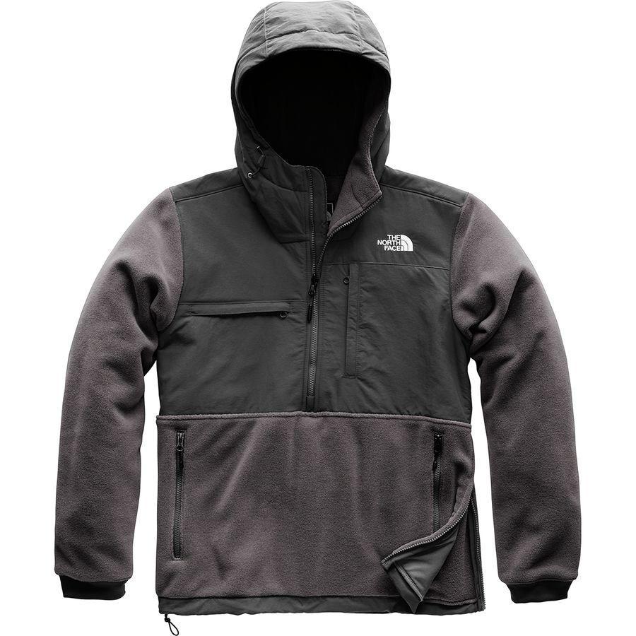 (取寄)ノースフェイス メンズ デナリ アノラック ジャケット The North Face Men's Denali Anorak Jacket Weathered Black/Tnf Black