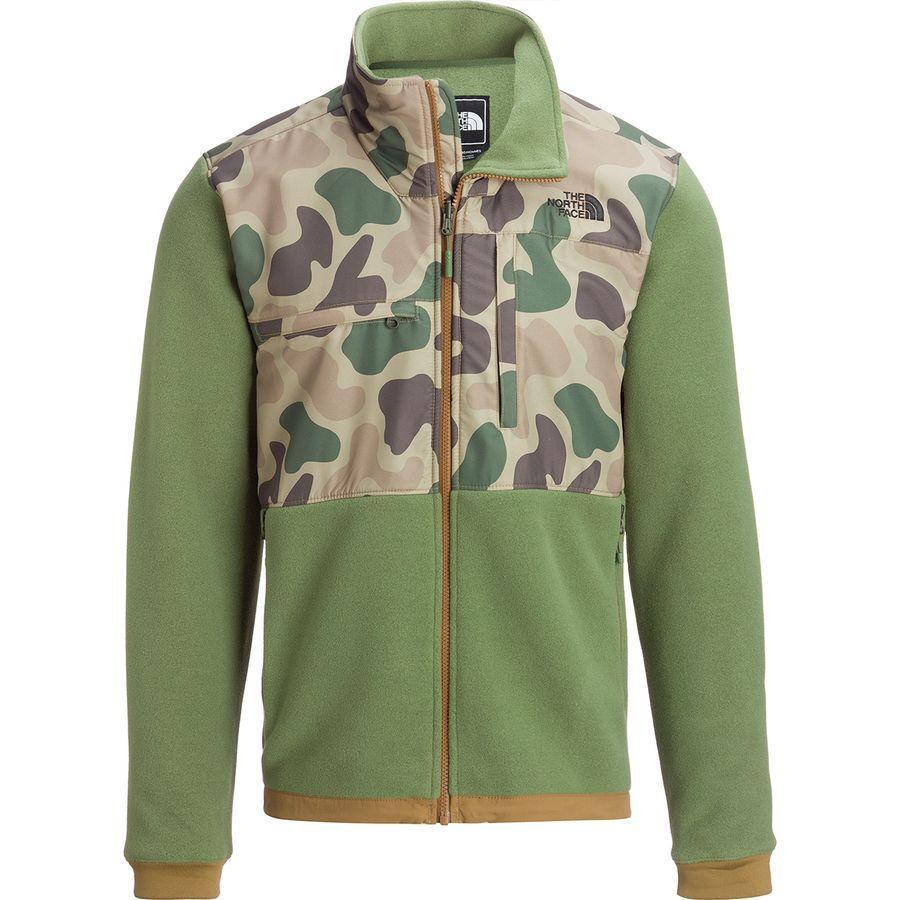 (取寄)ノースフェイス メンズ デナリ 2 フリース ジャケット The North Face Men's Denali 2 Fleece Jacket Four Leaf Clover/Vintage White Duck Camo Print