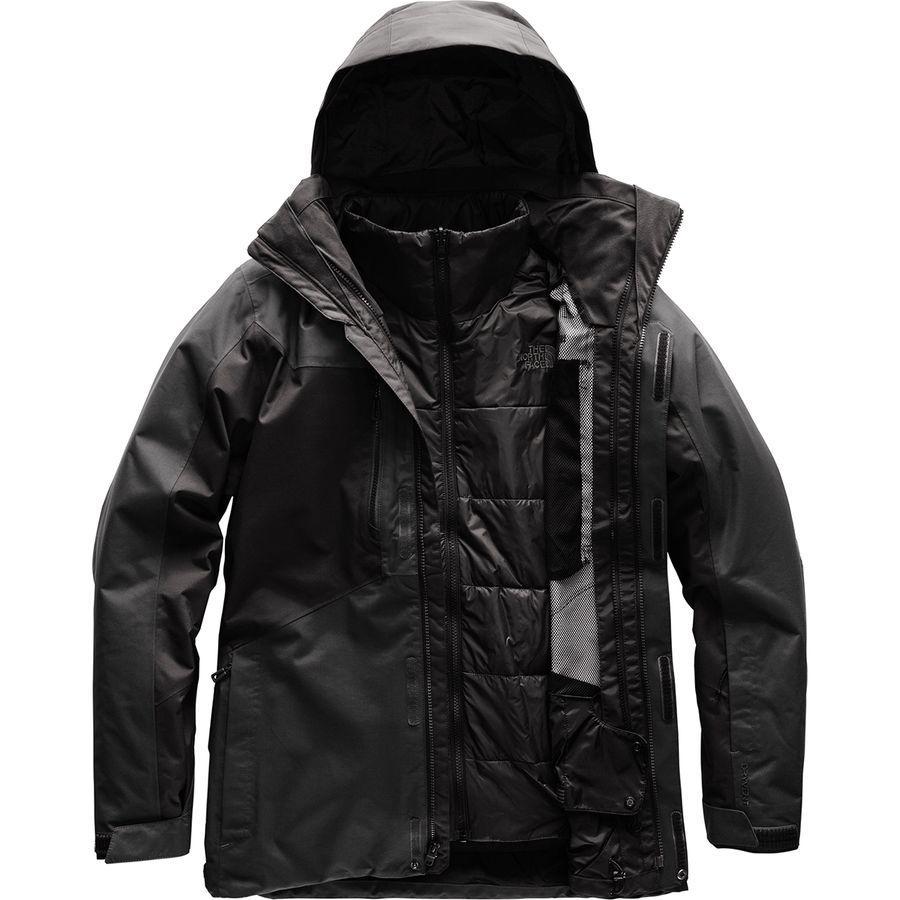 (取寄)ノースフェイス メンズ クレメント トリクラメイト ジャケット The North Face Men's Clement Triclimate Jacket Asphalt Grey/Tnf Black