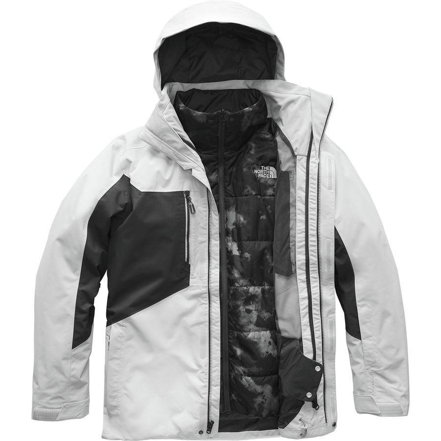 (取寄)ノースフェイス メンズ クレメント トリクラメイト ジャケット The North Face Men's Clement Triclimate Jacket High Rise Grey/Asphalt Grey