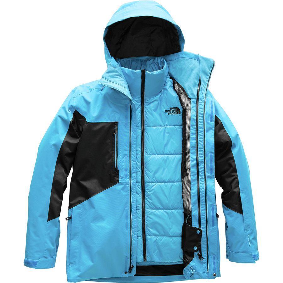 (取寄)ノースフェイス メンズ クレメント トリクラメイト ジャケット The North Face Men's Clement Triclimate Jacket Hyper Blue/Tnf Black