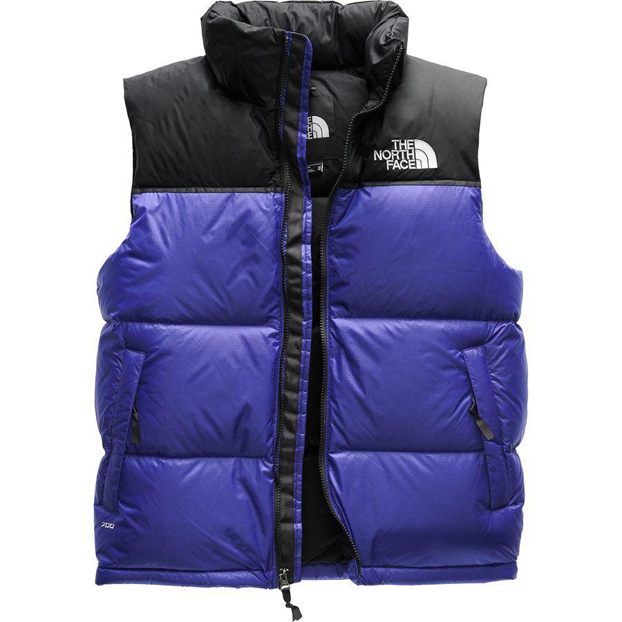 (取寄)ノースフェイス メンズ 1996レトロ ヌプシ ベスト The North Face Men's 1996 Retro Nuptse Vest Aztec Blue
