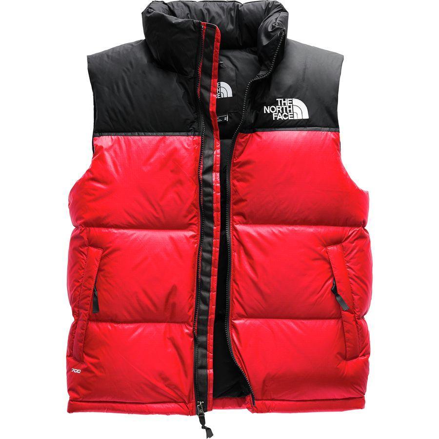 (取寄)ノースフェイス メンズ 1996レトロ ヌプシ ベスト The North Face Men's 1996 Retro Nuptse Vest Tnf Red