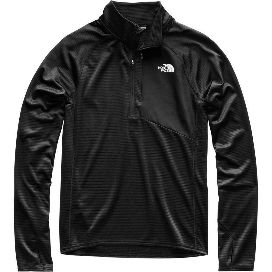 (取寄)ノースフェイス メンズ ウィンター ワーム 1/2-Zip ジャケット The North Face Men's Winter Warm 1/2-Zip Jacket Tnf Black