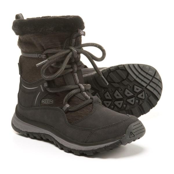 (取寄)キーン レディース テラドーラ アプレ ウィンター ブーツ Keen Women Terradora Apres Winter Boots Black/Magnet