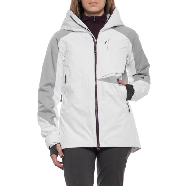 (取寄)マウンテンハードウェア レディース ポラーラ スキー ジャケット Mountain Hardwear Women Polara Ski Jacket White/Steam