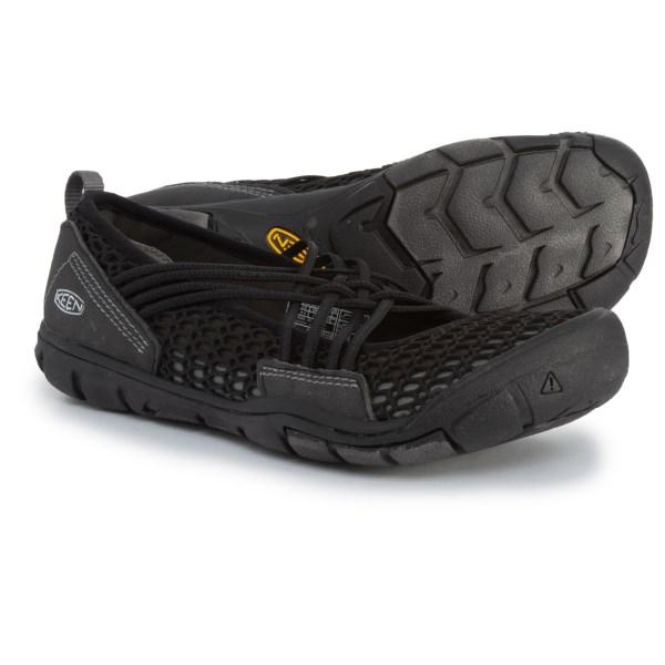 (取寄)キーン レディース ゼファー Criss-Cross シューズ Keen Women Zephyr Criss-Cross Shoes Black/Gargoyle
