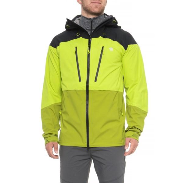 (取寄)マウンテンハードウェア メンズ サイクロン ポーラテック ジャケット Mountain Hardwear Men's Cyclone Polartec Jacket Fresh Bud/Python Green