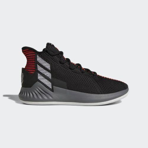 (取寄)アディダス メンズ D ローズ 9シューズ バスケットボールシューズ adidas Men's D Rose 9 Shoes Core Black / Cloud White / Scarlet