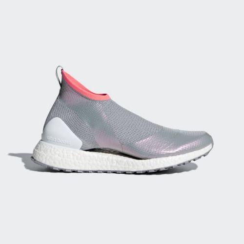 (取寄)アディダス レディース ウルトラブースト X オール テレイン ランニングシューズ adidas Women Ultraboost X All Terrain Shoes Mid Grey / Cloud White / Turbo