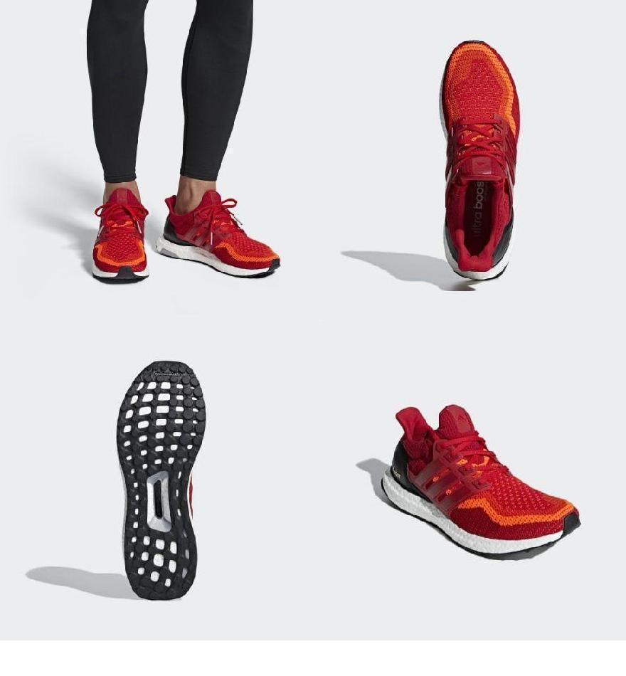 412b5c2de769 (取寄)アディダス メンズ ウルトラ ブースト ランニングシューズ adidas Men s Ultra Boost Shoes Solar Red    Power Red Core Black  -メンズシューズ - atelje-tom. ...