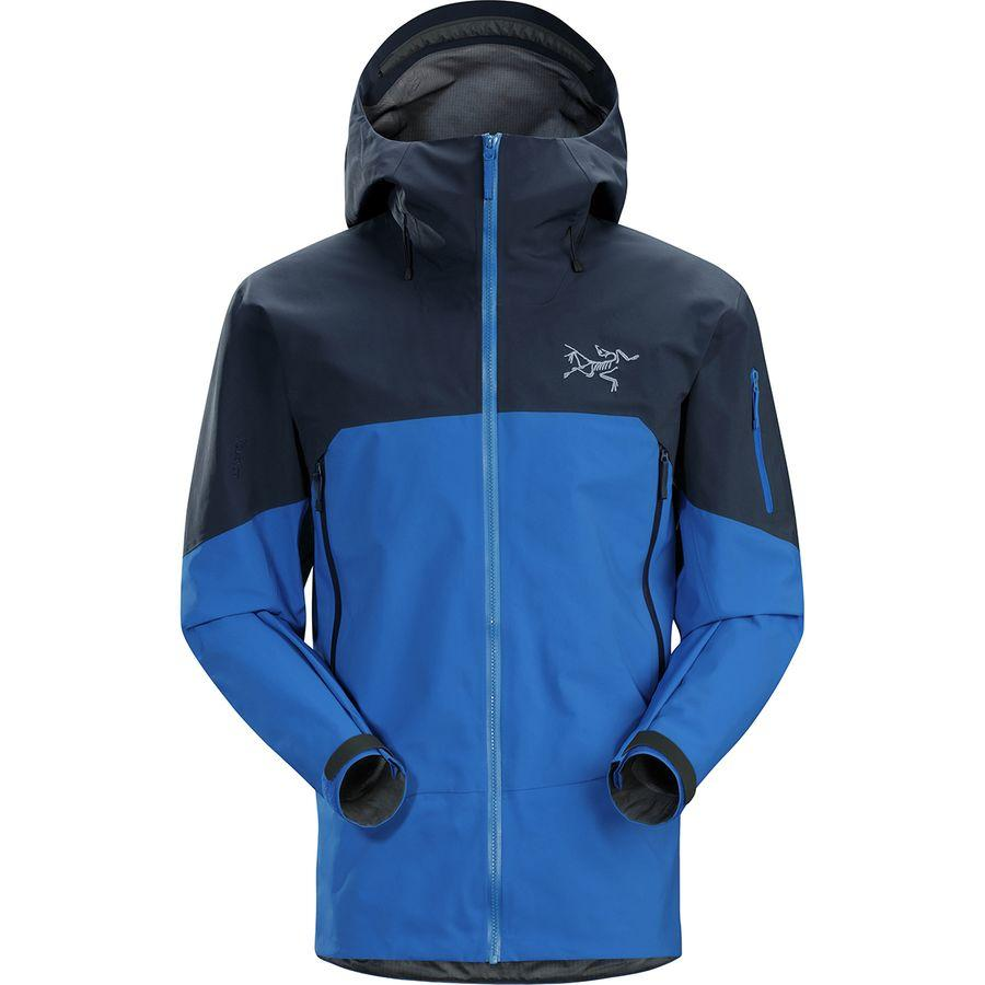 【クーポンで最大2000円OFF】(取寄)アークテリクス メンズ ラッシュ ジャケット Arc'teryx Men's Rush Jacket Blue Northern