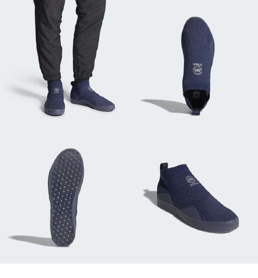 timeless design c78d2 c1e76 (order) Adidas originals men 3ST. 002 prime knit shoes adidas originals  Mens 3ST. 002 Primeknit Shoes Collegiate Navy  Trace Blue  Trace Blue