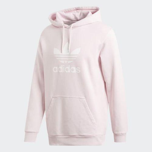 (取寄)アディダス オリジナルス メンズ トレフォイル パーカー adidas originals Men's Trefoil Hoodie Clear Pink