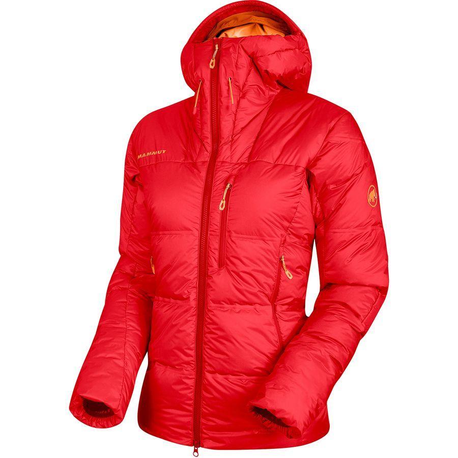 (取寄)マムート レディース アイガーヨッホ プロ イン フーデッド ジャケット Mammut Women Eigerjoch Pro In Hooded Jacket Sunset
