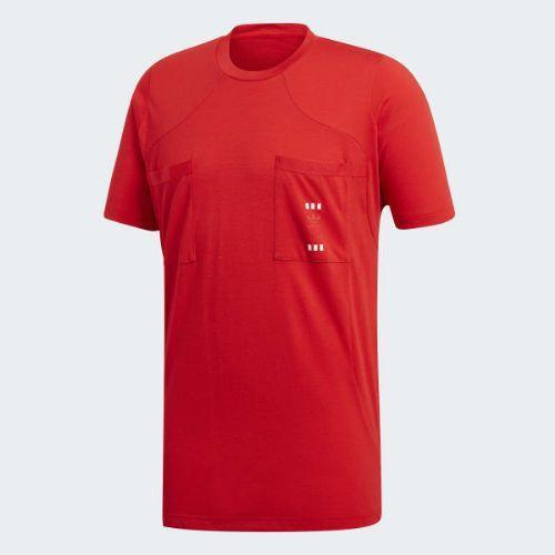 (取寄)アディダス オリジナルス メンズ オイスター ホールディングス 72 Tシャツ adidas originals Men's Oyster Holdings 72 Tee Red