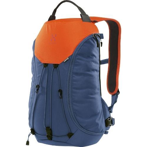 (取寄)ホグロフス コーカー メディア 18L バックパック Haglofs Corker Medium 18L Backpack Blue Ink/Sunset