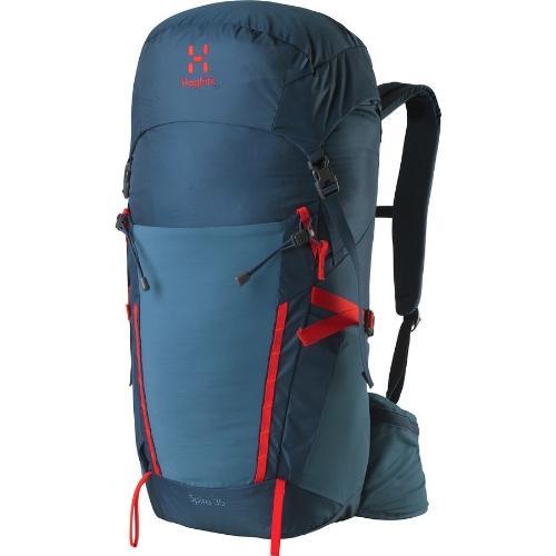 (取寄)ホグロフス スパイラ 35L バックパック Haglofs Spira 35L Backpack Blue Ink/Pop Red