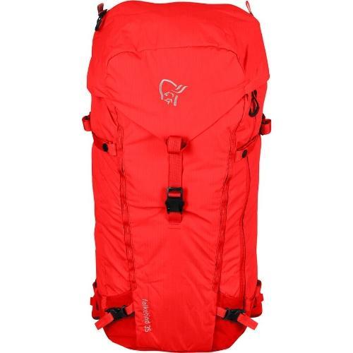 (取寄)ノローナ フォルケティン 35L バックパック Norrona Falketind 35L Backpack Crimson Kick
