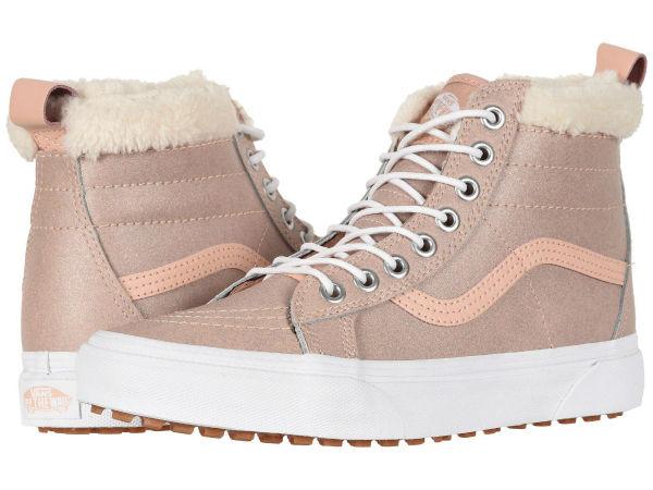f3614182b7517a (order) Vans (vans) sneakers skating high MTE unisex men gap Dis Vans  Unisex SK8 Hi MTE (MTE) Metallic Soft Pink