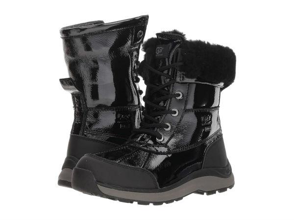 0c9912b0790 (order) アグレディースアディロンダックパテント 3 UGG Women Adirondack Patent III Black