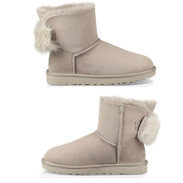 ab4c6c412f3 (order) a goes wrong; D staple fiber rough bow tie mini-UGG Women Fluff Bow  Mini Willow