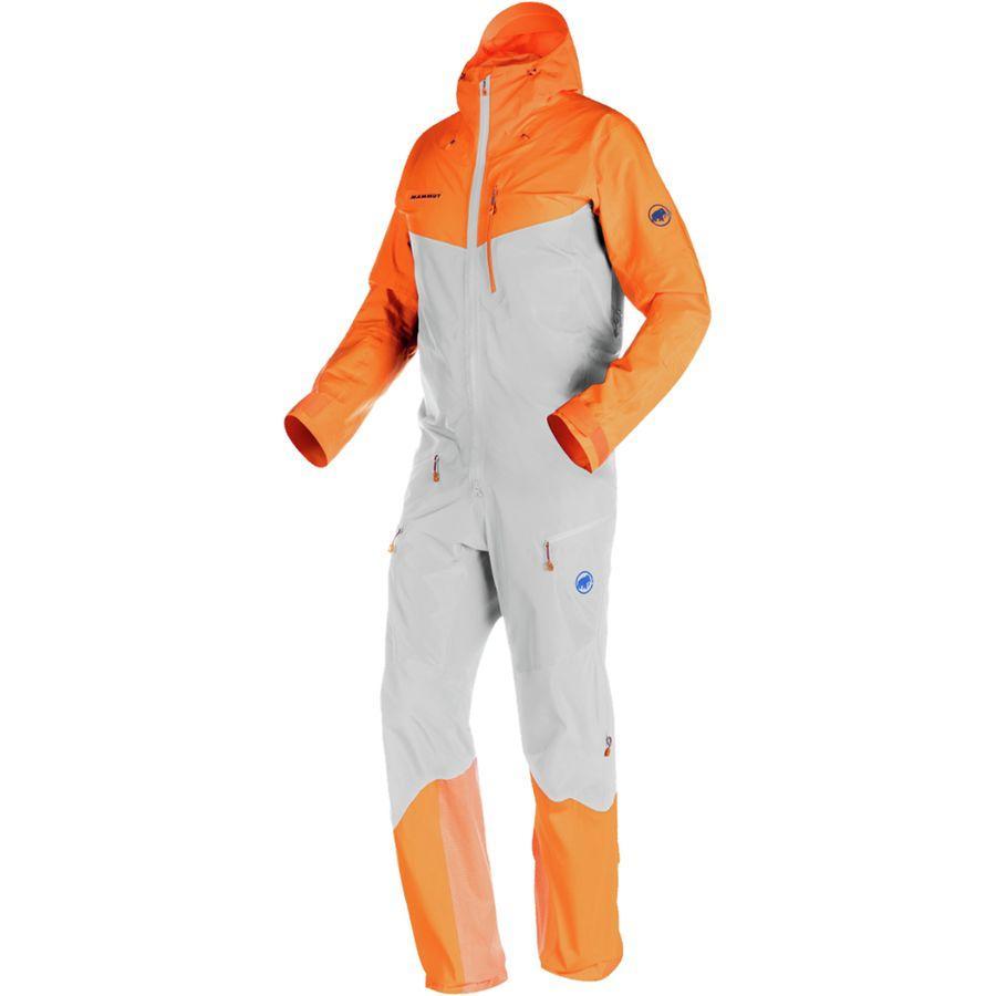 (取寄)マムート メンズ ノードワンド プロ HS スーツ Mammut Men's Nordwand Pro HS Suit Marble/Sunrise