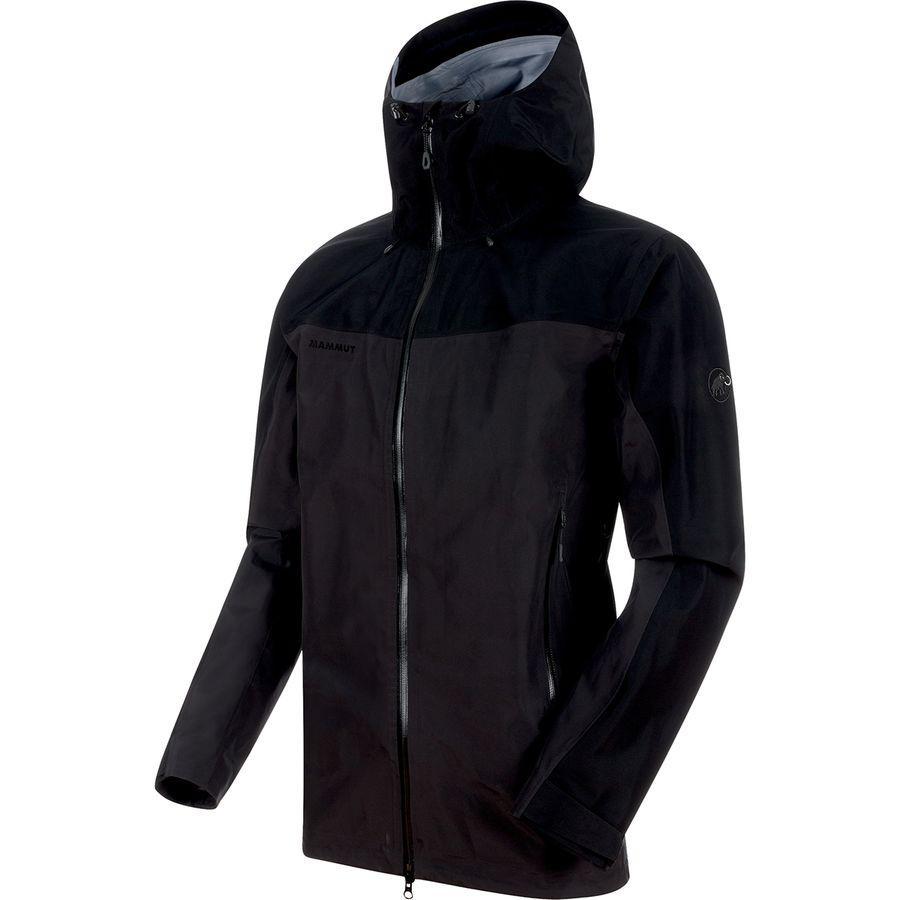 (取寄)マムート メンズ クレーター HS フーデッド ジャケット Mammut Men's Crater HS Hooded Jacket Phantom/Black